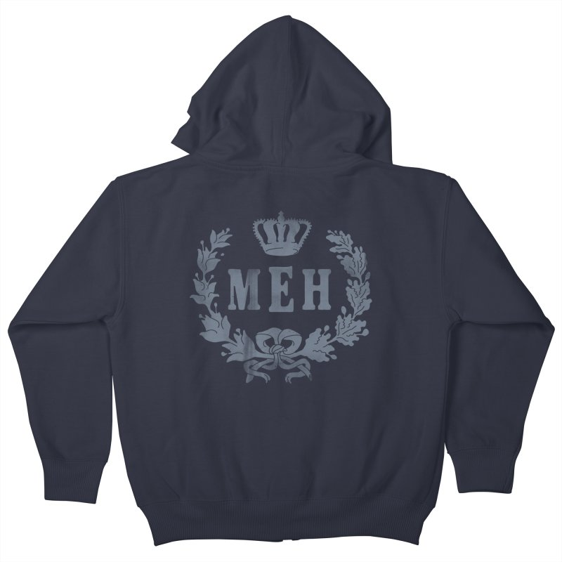 Le Royal Meh Kids Zip-Up Hoody by 38 Sunsets