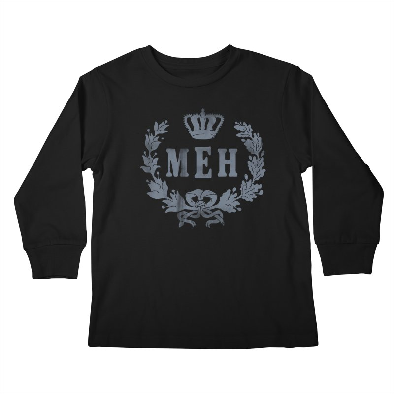 Le Royal Meh Kids Longsleeve T-Shirt by 38 Sunsets