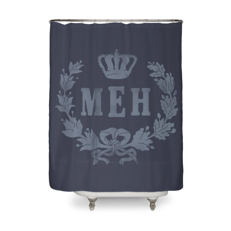 Le Royal Meh Home Shower Curtain by 38 Sunsets