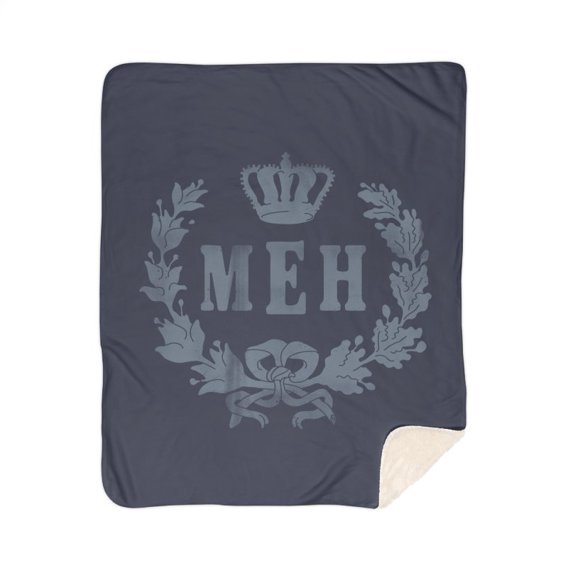 Le Royal Meh Home Sherpa Blanket Blanket by 38 Sunsets