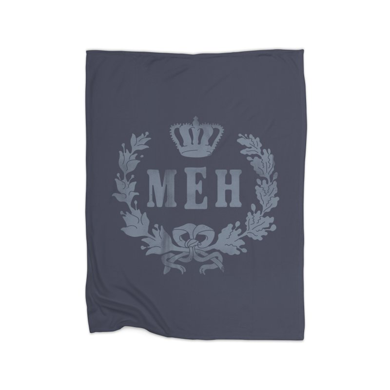 Le Royal Meh Home Fleece Blanket by 38 Sunsets