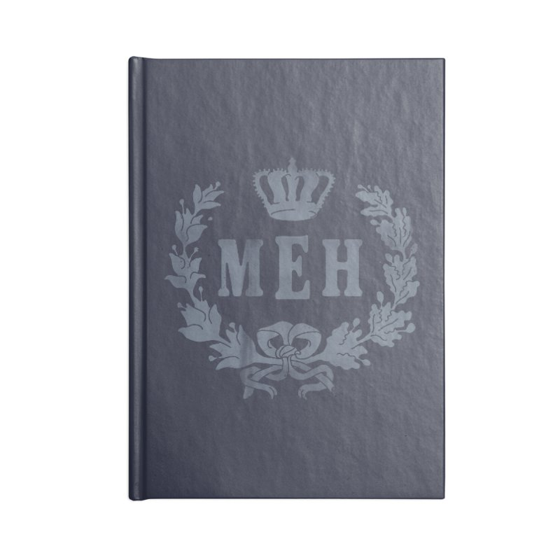 Le Royal Meh Accessories Blank Journal Notebook by 38 Sunsets