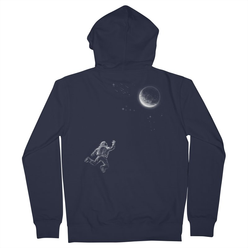 Reach for the Stars Men's French Terry Zip-Up Hoody by 38 Sunsets