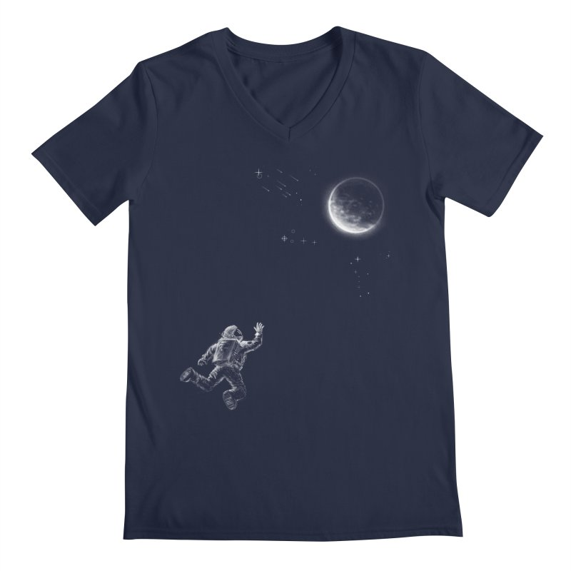 Reach for the Stars Men's V-Neck by 38 Sunsets
