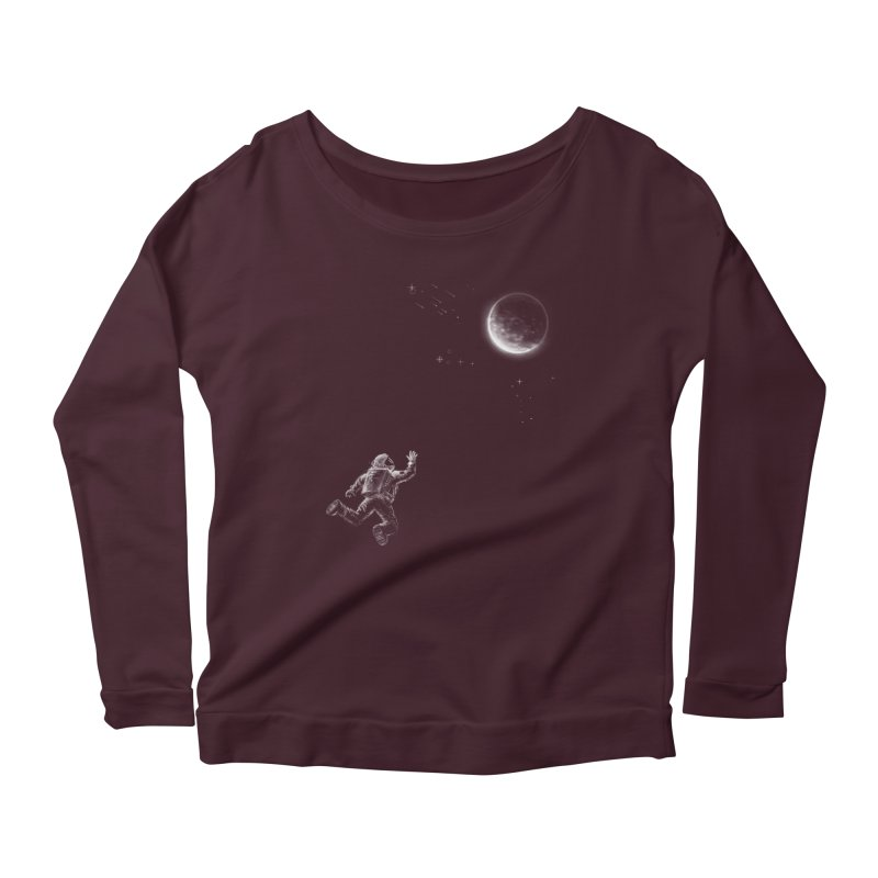 Reach for the Stars Women's Scoop Neck Longsleeve T-Shirt by 38 Sunsets