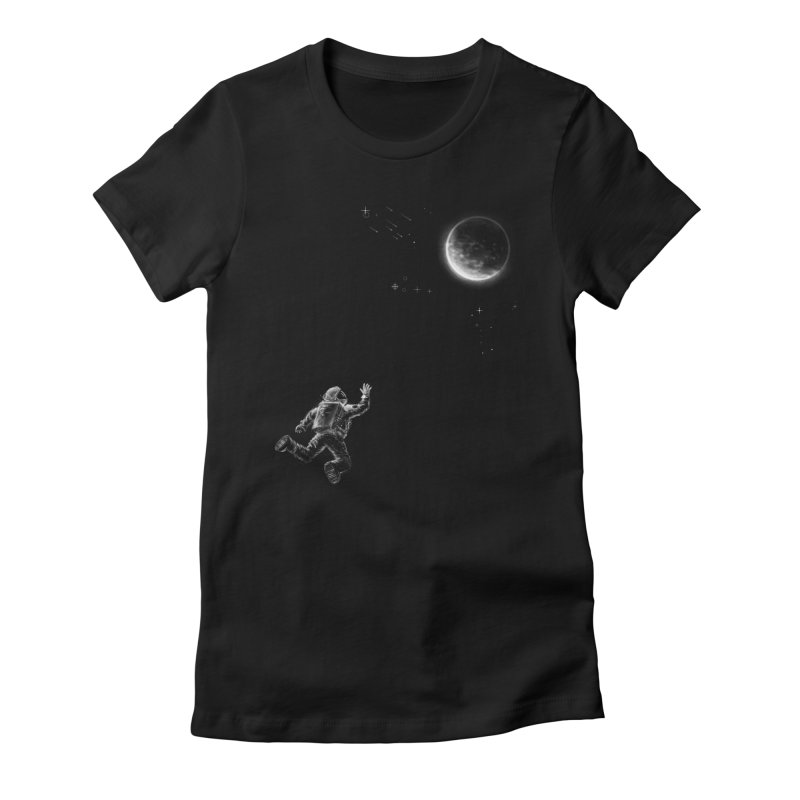 Reach for the Stars Women's Fitted T-Shirt by 38 Sunsets