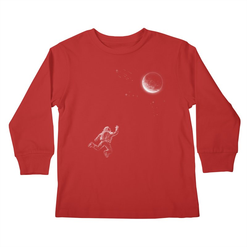 Reach for the Stars Kids Longsleeve T-Shirt by 38 Sunsets