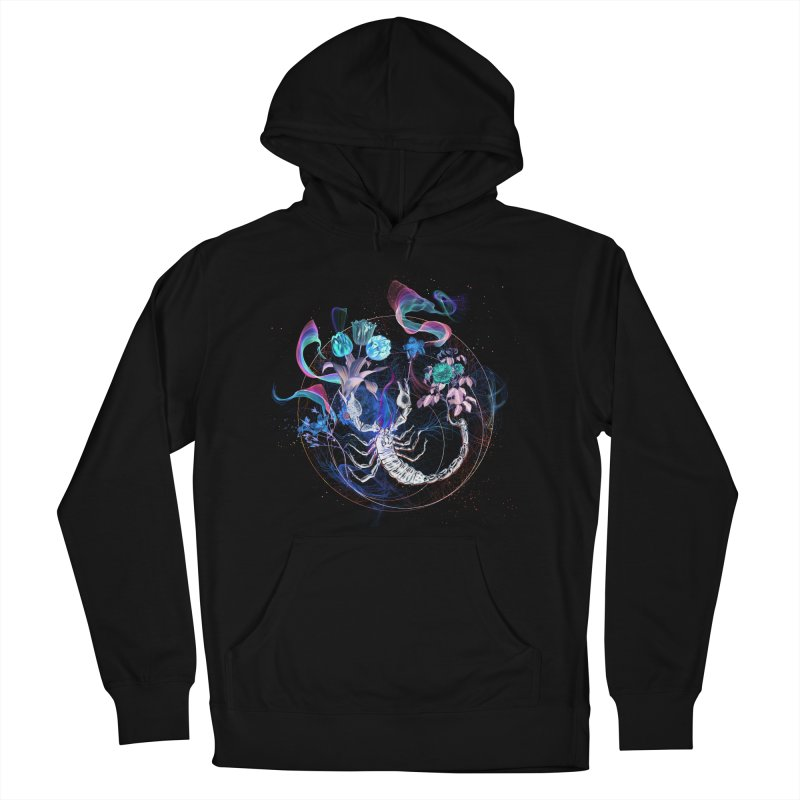 Acid Scorpion Women's French Terry Pullover Hoody by 38 Sunsets