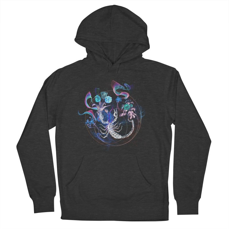 Acid Scorpion Men's French Terry Pullover Hoody by 38 Sunsets
