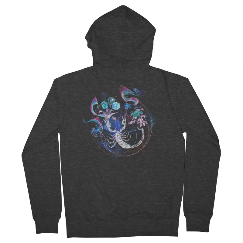 Acid Scorpion Women's French Terry Zip-Up Hoody by 38 Sunsets