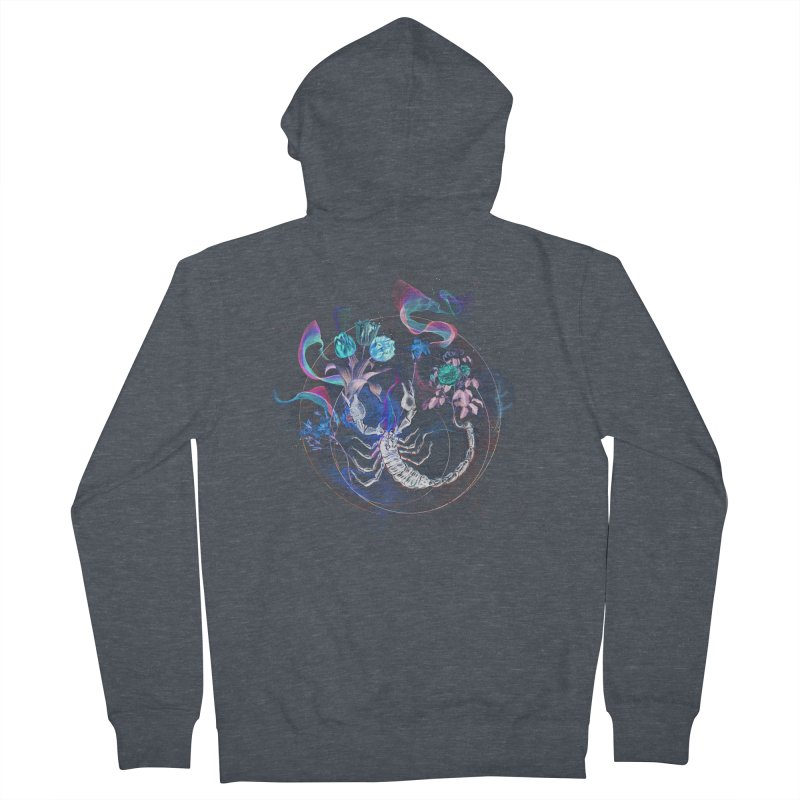 Acid Scorpion Women's Zip-Up Hoody by 38 Sunsets