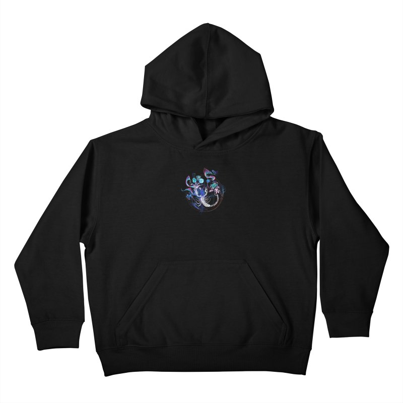 Acid Scorpion Kids Pullover Hoody by 38 Sunsets
