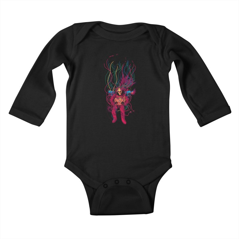 Sound Connection Kids Baby Longsleeve Bodysuit by 38 Sunsets