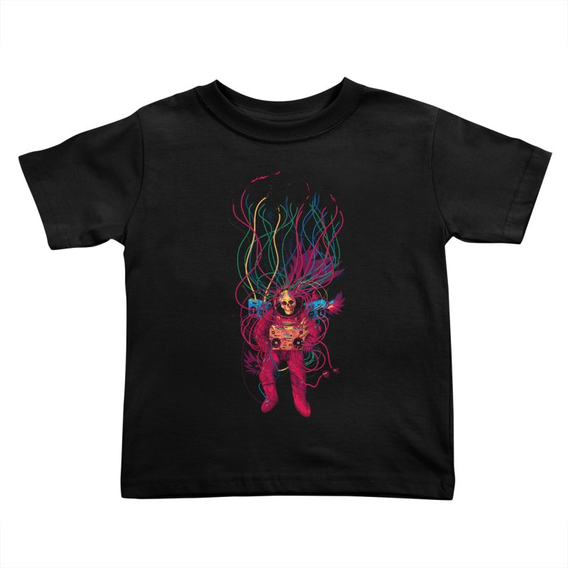 Sound Connection Kids Toddler T-Shirt by 38 Sunsets