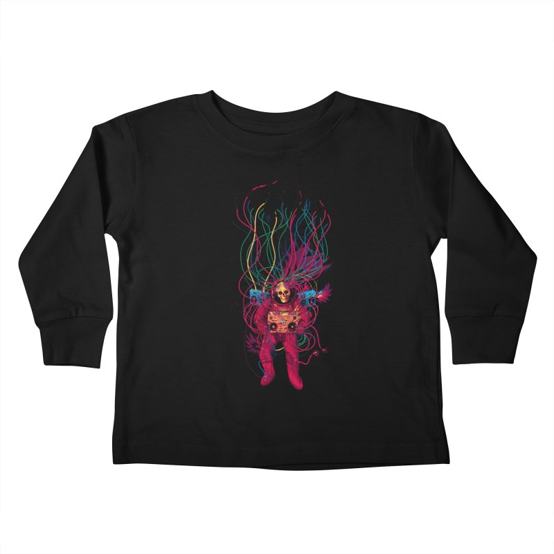 Sound Connection Kids Toddler Longsleeve T-Shirt by 38 Sunsets