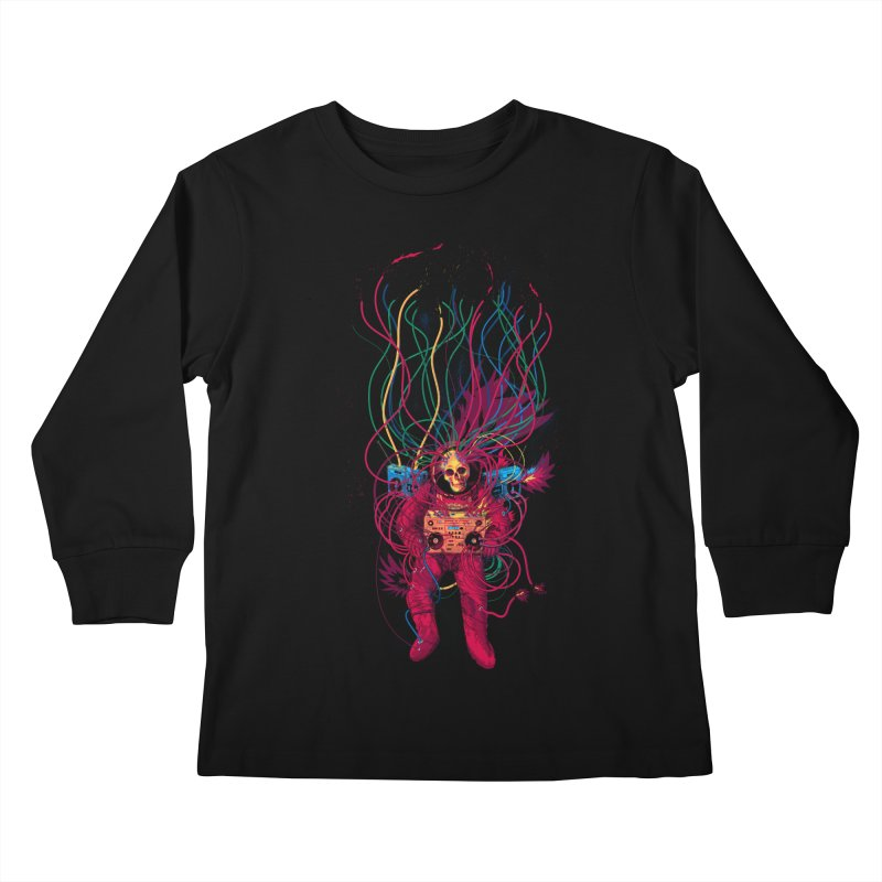 Sound Connection Kids Longsleeve T-Shirt by 38 Sunsets