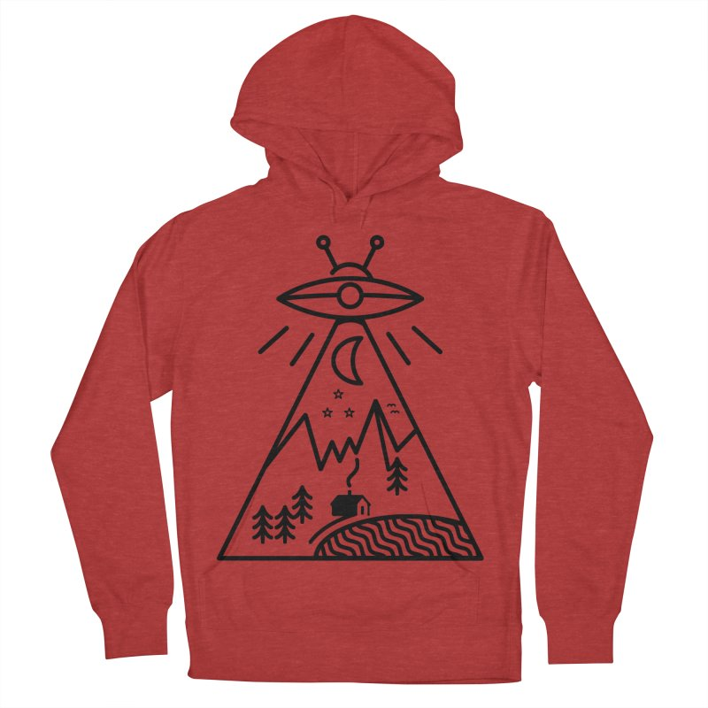 They Made Us Men's French Terry Pullover Hoody by 38 Sunsets