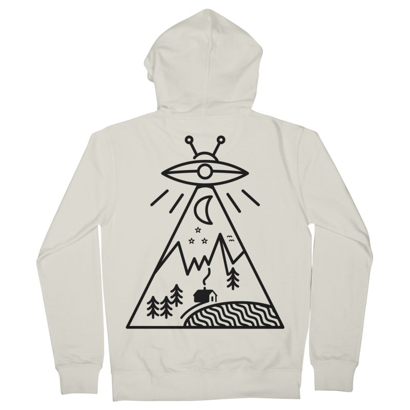 They Made Us Men's Zip-Up Hoody by 38 Sunsets