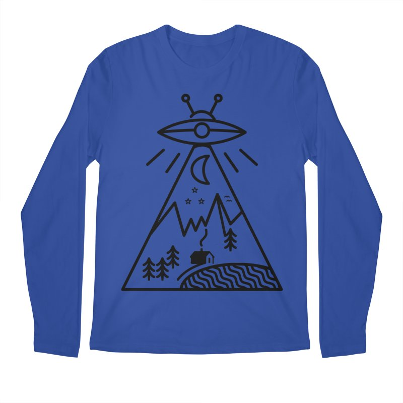 They Made Us Men's Regular Longsleeve T-Shirt by 38 Sunsets