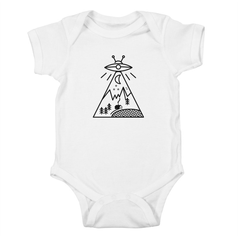 They Made Us Kids Baby Bodysuit by 38 Sunsets