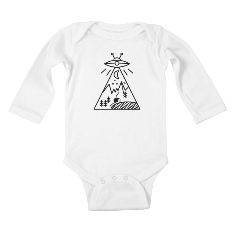 They Made Us Kids Baby Longsleeve Bodysuit by 38 Sunsets