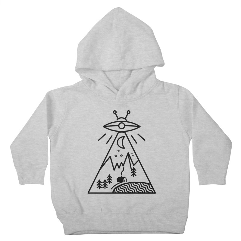They Made Us Kids Toddler Pullover Hoody by 38 Sunsets
