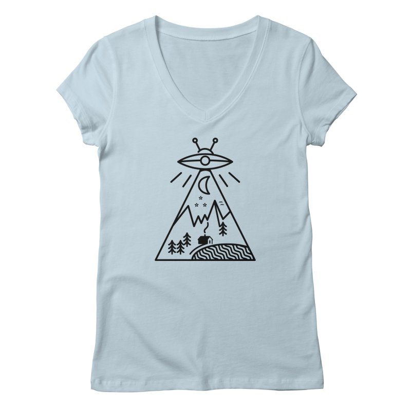 They Made Us Women's V-Neck by 38 Sunsets