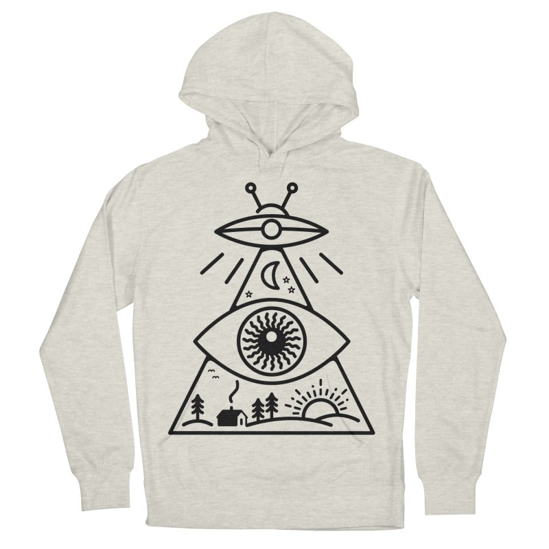 They Watch Us Women's Pullover Hoody by 38 Sunsets