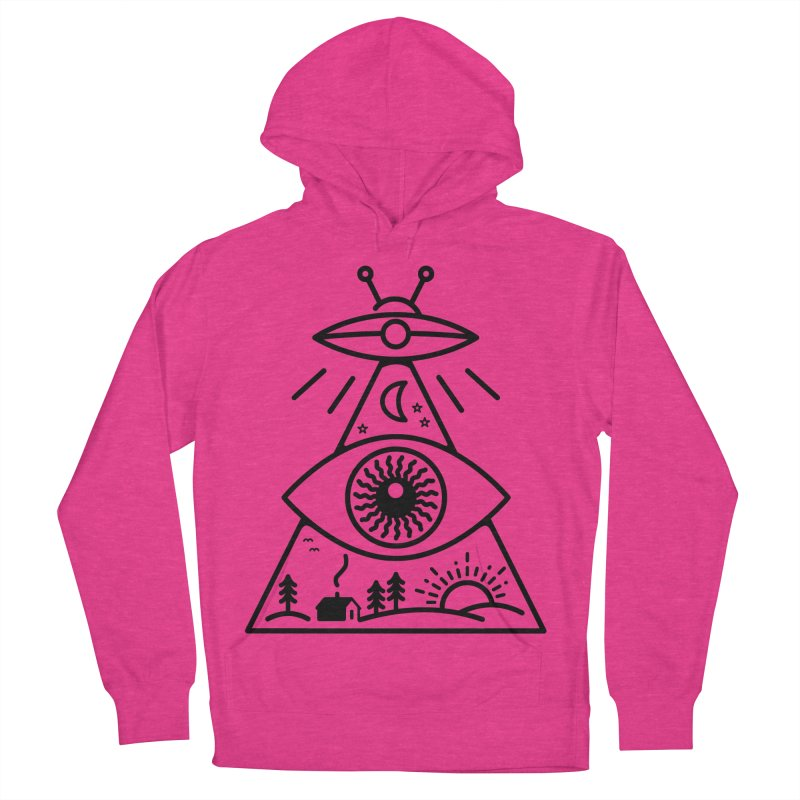 They Watch Us Men's Pullover Hoody by 38 Sunsets