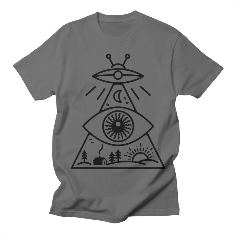 They Watch Us Men's T-shirt by 38 Sunsets