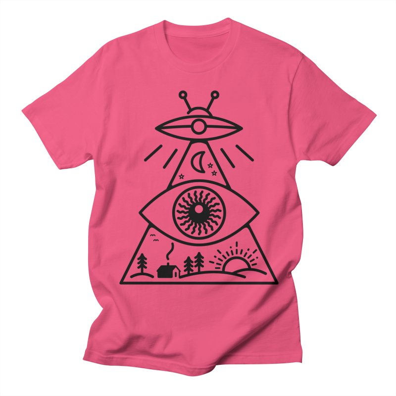 They Watch Us Men's Regular T-Shirt by 38 Sunsets