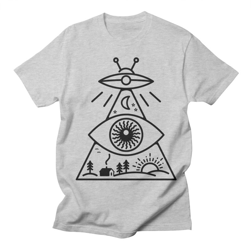 They Watch Us Women's Regular Unisex T-Shirt by 38 Sunsets