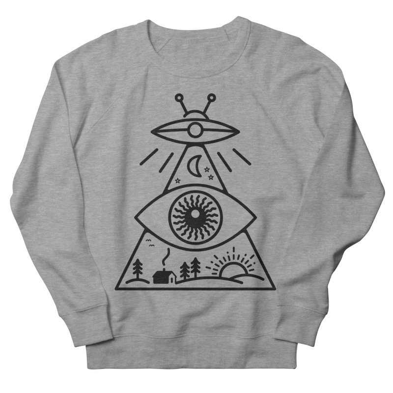 They Watch Us Women's French Terry Sweatshirt by 38 Sunsets