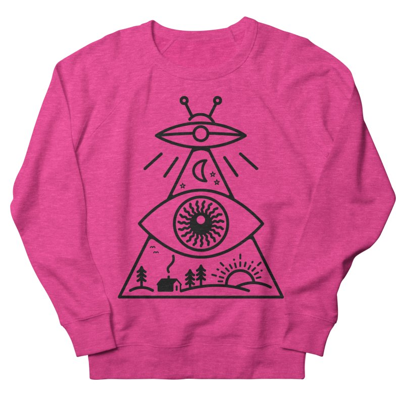 They Watch Us Men's Sweatshirt by 38 Sunsets