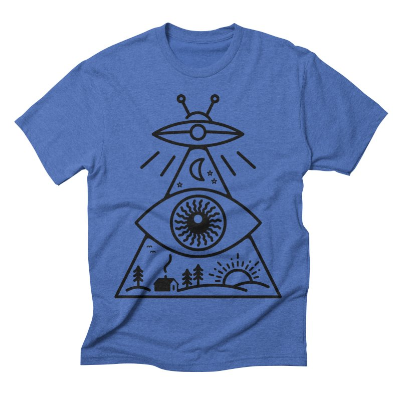 They Watch Us Men's Triblend T-Shirt by 38 Sunsets