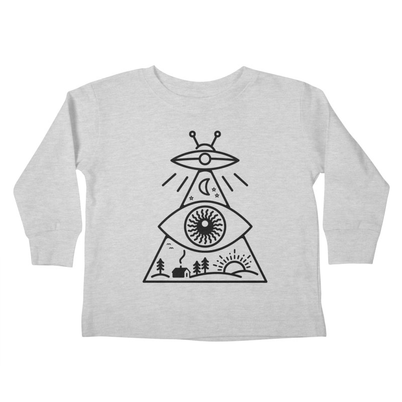 They Watch Us Kids Toddler Longsleeve T-Shirt by 38 Sunsets