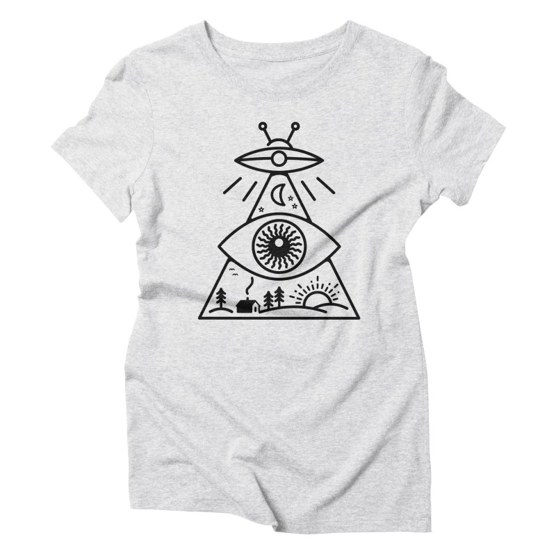 They Watch Us Women's T-Shirt by 38 Sunsets