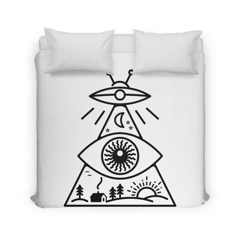 They Watch Us Home Duvet by 38 Sunsets