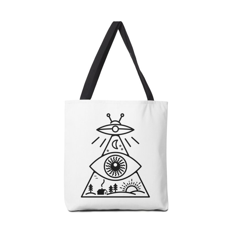 They Watch Us Accessories Tote Bag Bag by 38 Sunsets