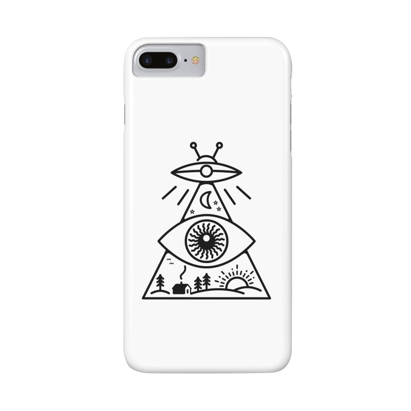 They Watch Us Accessories Phone Case by 38 Sunsets