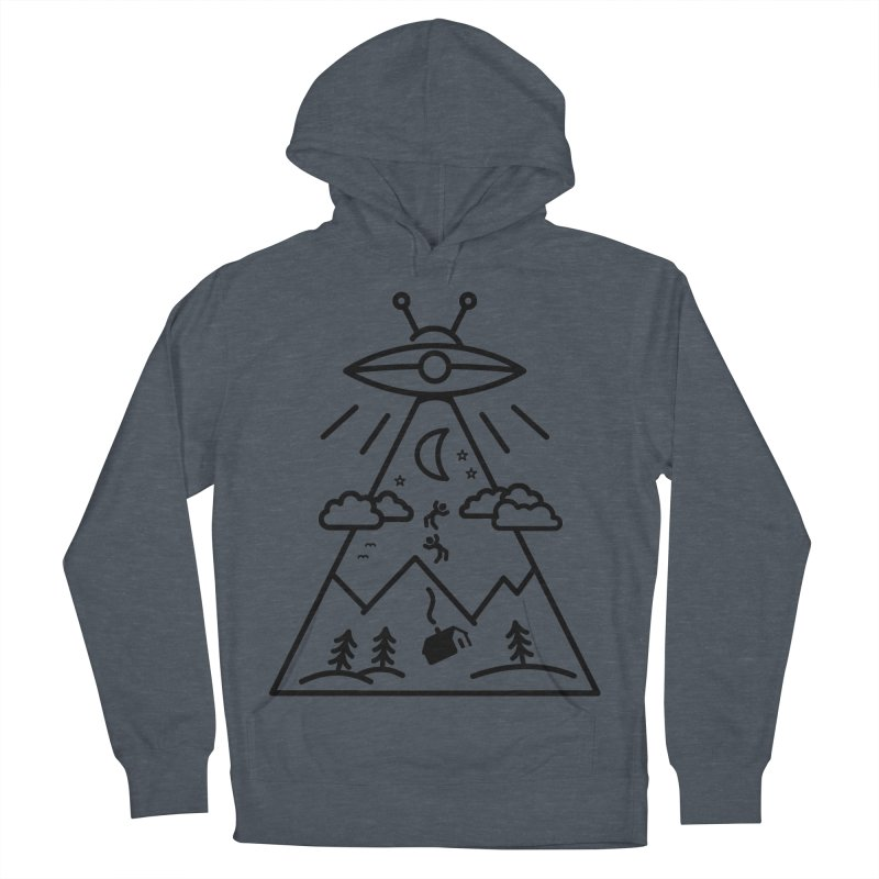 They Want Us Men's French Terry Pullover Hoody by 38 Sunsets