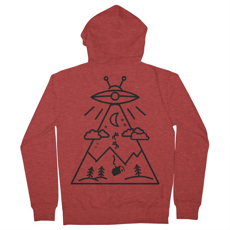 They Want Us Men's French Terry Zip-Up Hoody by 38 Sunsets