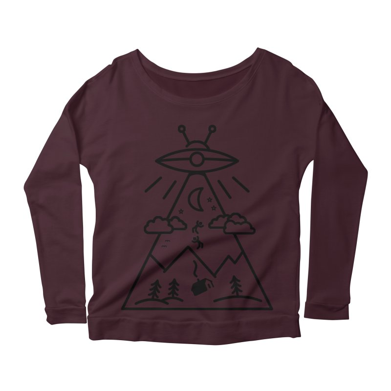 They Want Us Women's Longsleeve Scoopneck  by 38 Sunsets