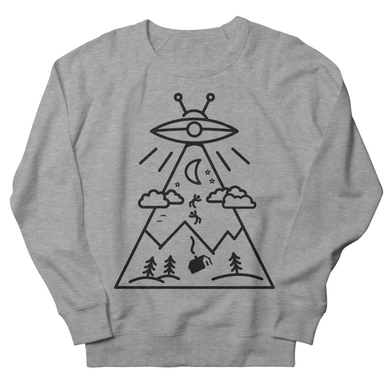 They Want Us Men's French Terry Sweatshirt by 38 Sunsets