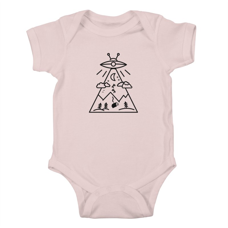 They Want Us Kids Baby Bodysuit by 38 Sunsets