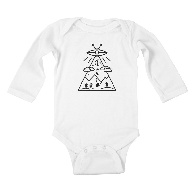 They Want Us Kids Baby Longsleeve Bodysuit by 38 Sunsets