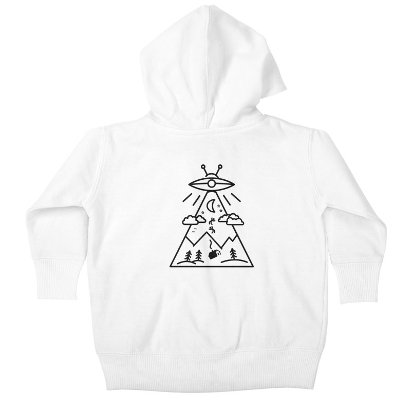 They Want Us Kids Baby Zip-Up Hoody by 38 Sunsets