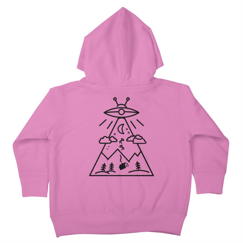 They Want Us Kids Toddler Zip-Up Hoody by 38 Sunsets