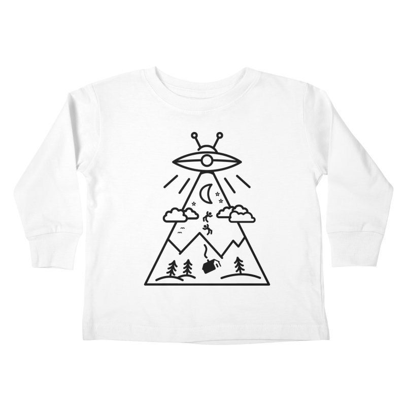 They Want Us Kids Toddler Longsleeve T-Shirt by 38 Sunsets