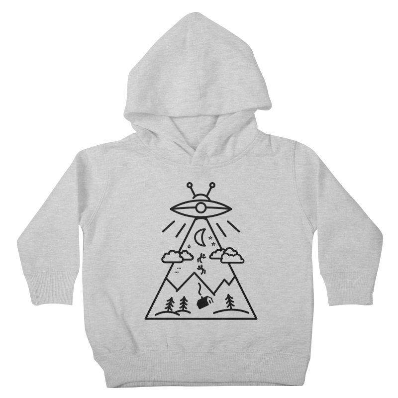 They Want Us Kids Toddler Pullover Hoody by 38 Sunsets